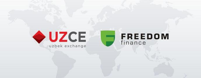 Инвестиционная компания «Freedom Finance» принята в состав членов Узбекской республиканской валютной биржи (УзРВБ).