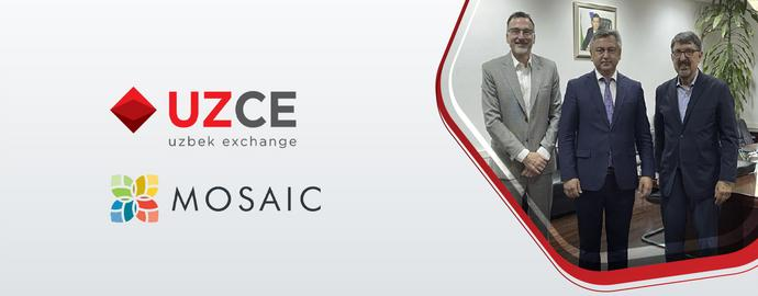 """""""Mosaic Financial Ltd."""" инвестиция компанияси (АҚШ) делегацияси билан учрашув"""